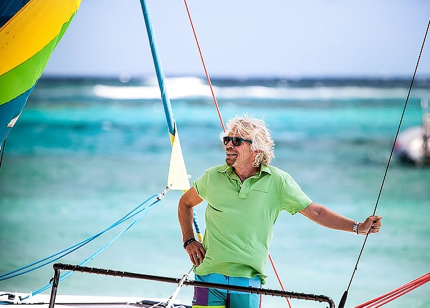 What makes a billionaire's vacation so different?
